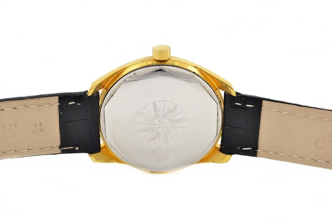 Vintage Tissot Seastar Visodate Midsize Gold Plated - 5