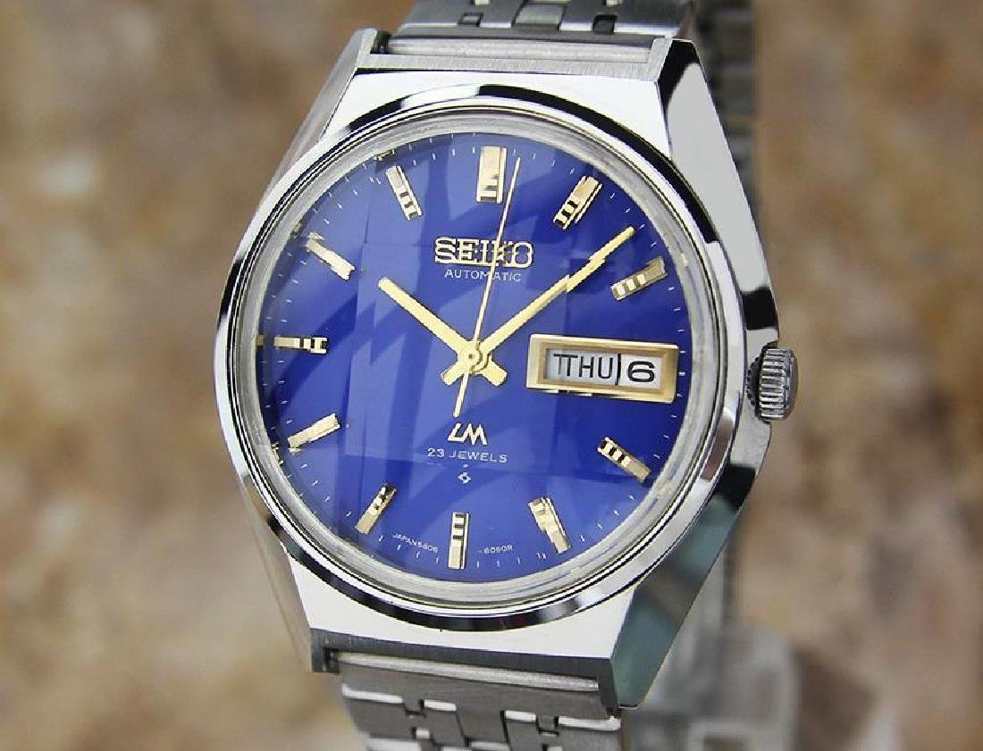 Vintage Seiko LM Lord Matic 5606 7310 Automatic Made in