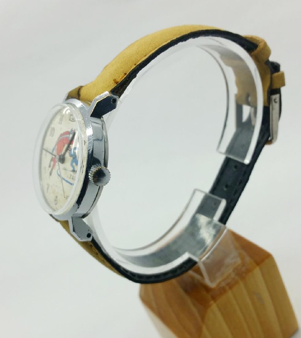 ZARiA Skiing figured dial ladies vintage wristwatch - - 5