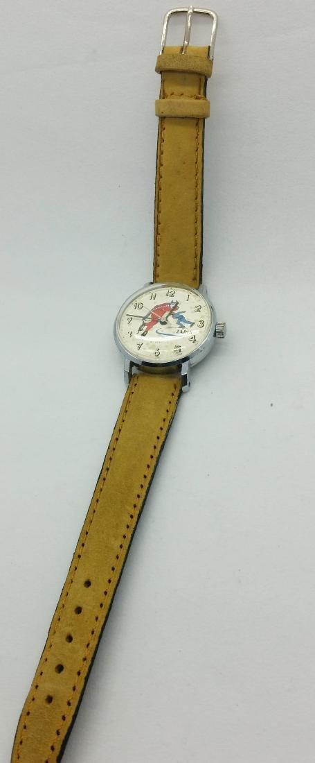 ZARiA Skiing figured dial ladies vintage wristwatch - - 9