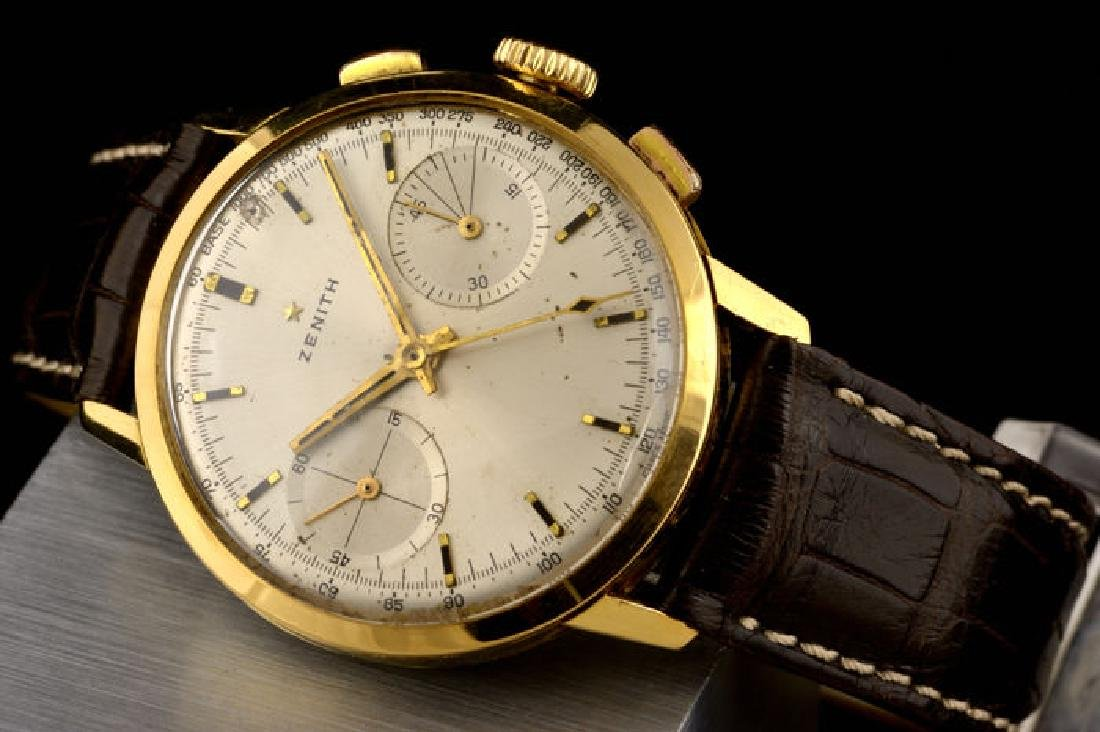 Excellent Zenith Chronograph Gold - 18K