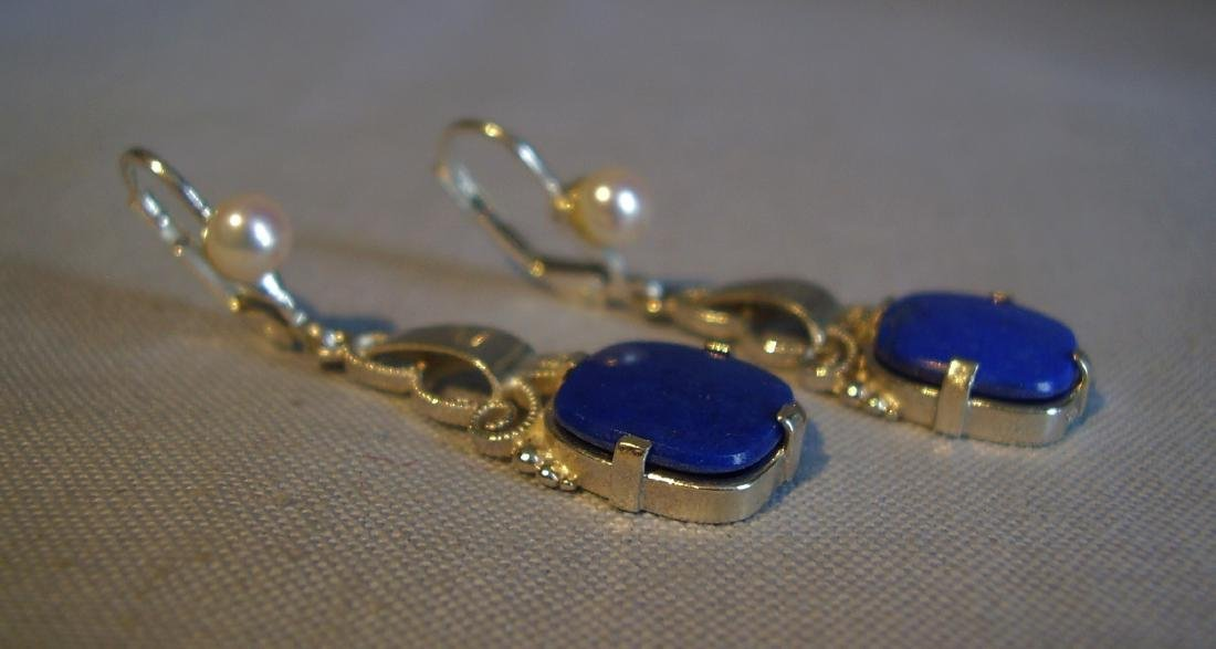 Lapislazuli Earrings - 2