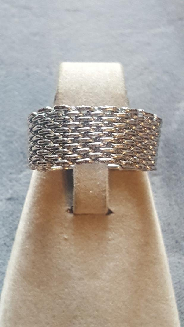 Silver Chainmail Ring