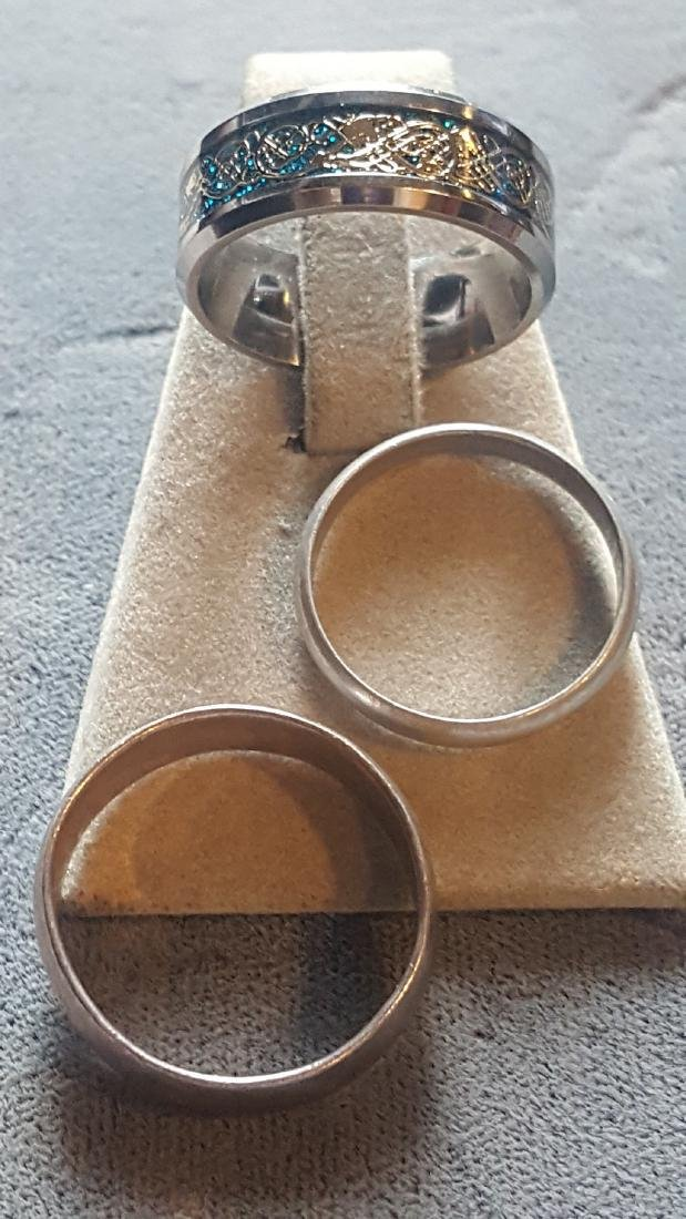 Silver Ring Lot - 2