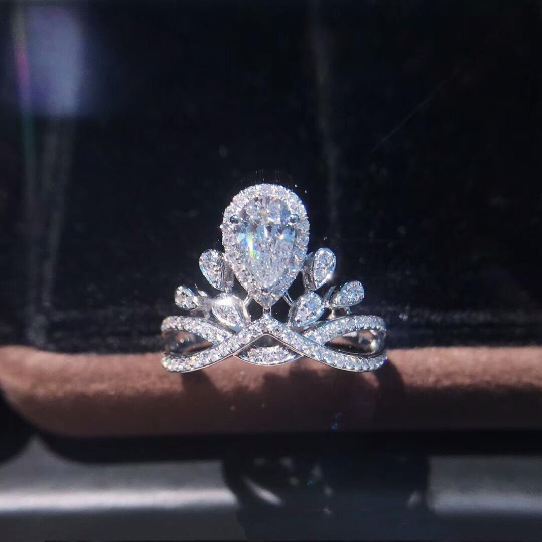 0.58 CTW VS Diamond Ring 18K