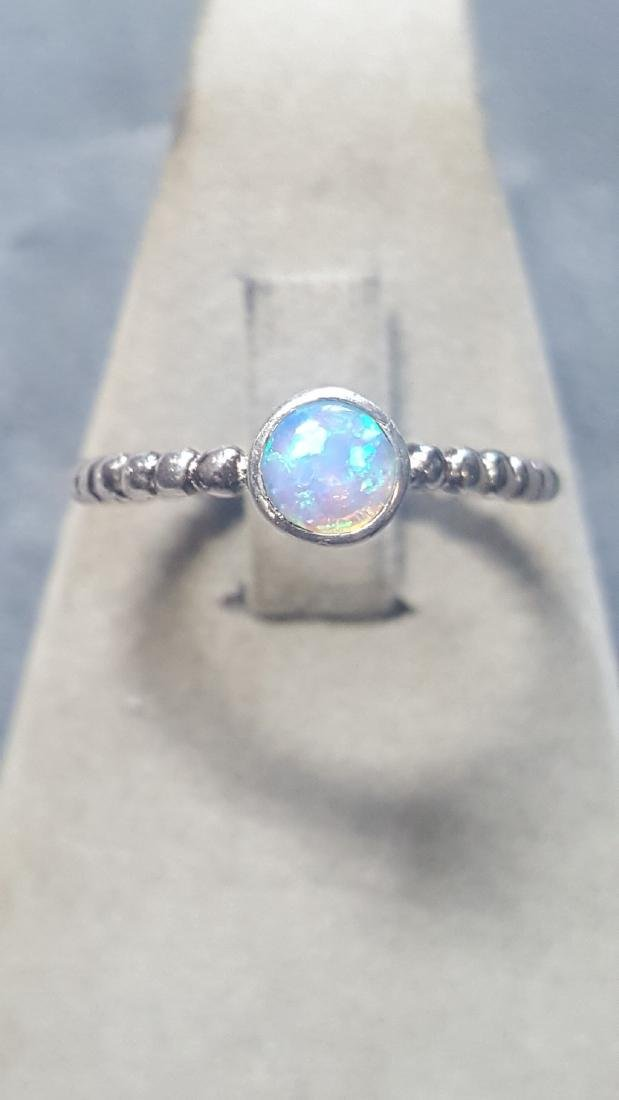 Custom 925 Opal Ring