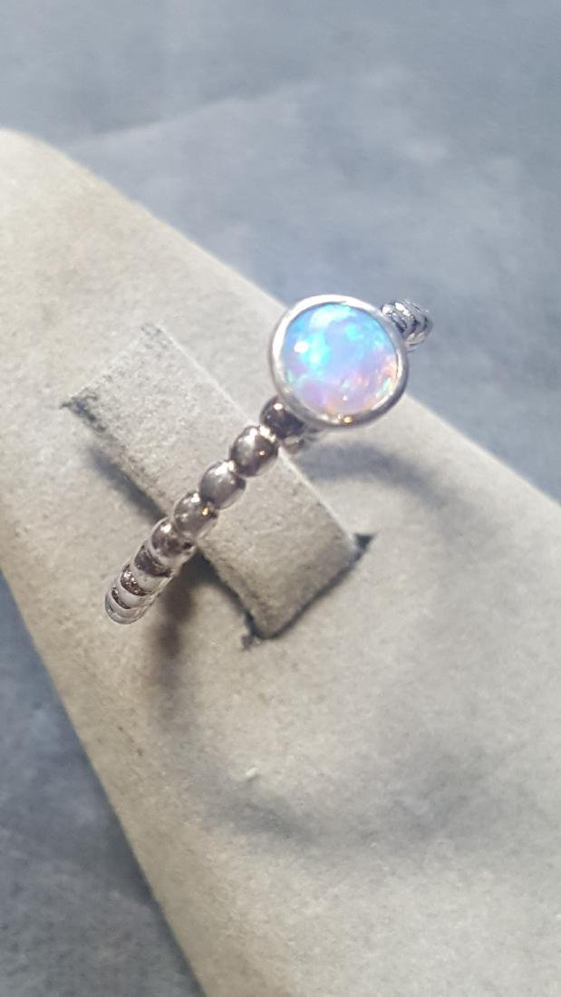 Custom 925 Opal Ring - 2