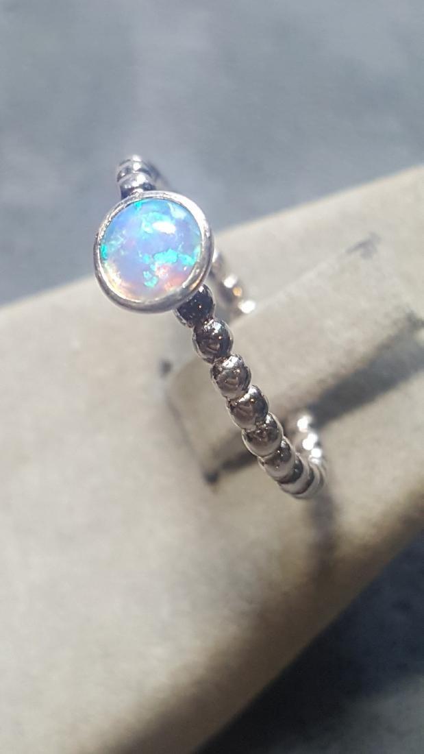 Custom 925 Opal Ring - 3