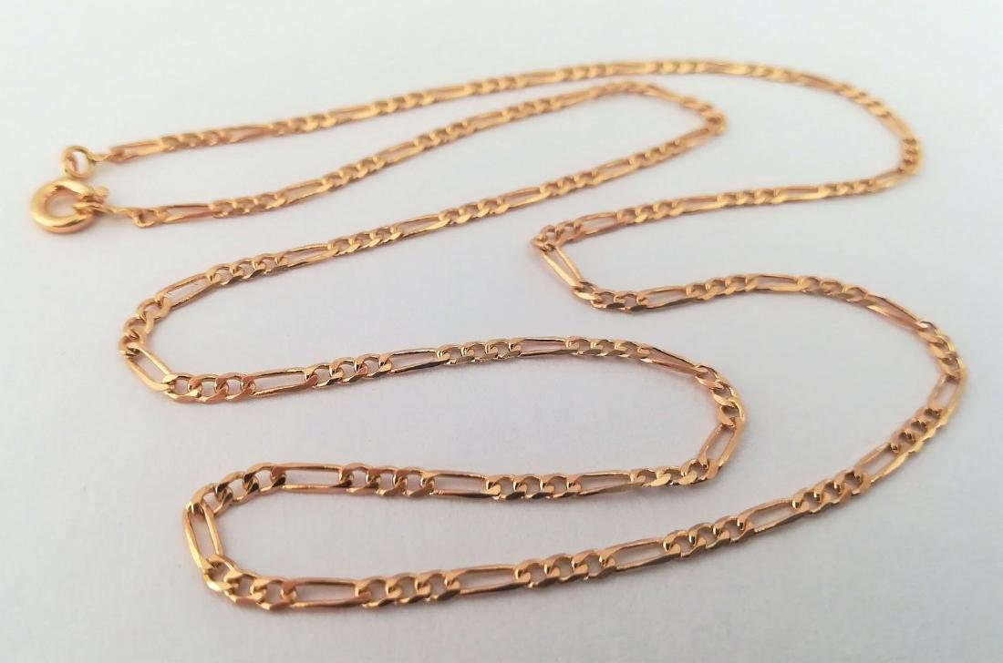 19,2 Kt - Gold Necklace with 50 cm - 5,8 Grams