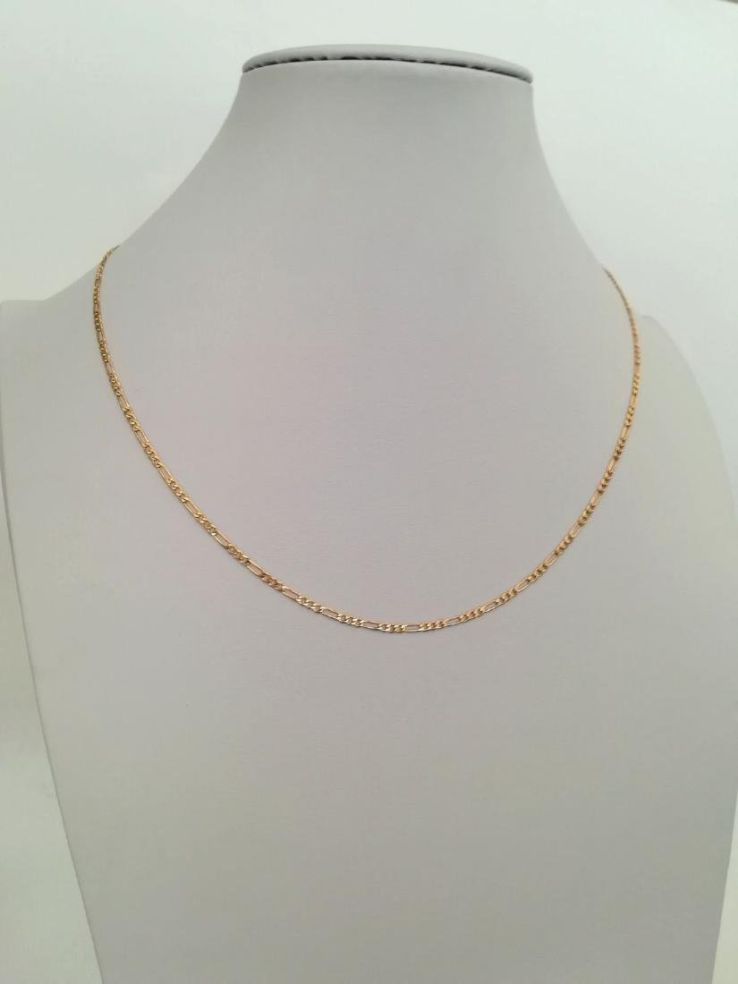 19,2 Kt - Gold Necklace with 50 cm - 5,8 Grams - 8
