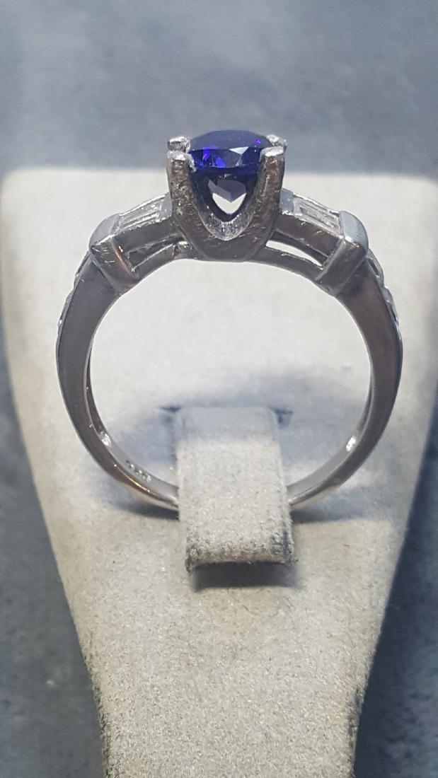 Vnt 925 2ct Sapphire Ring - 3