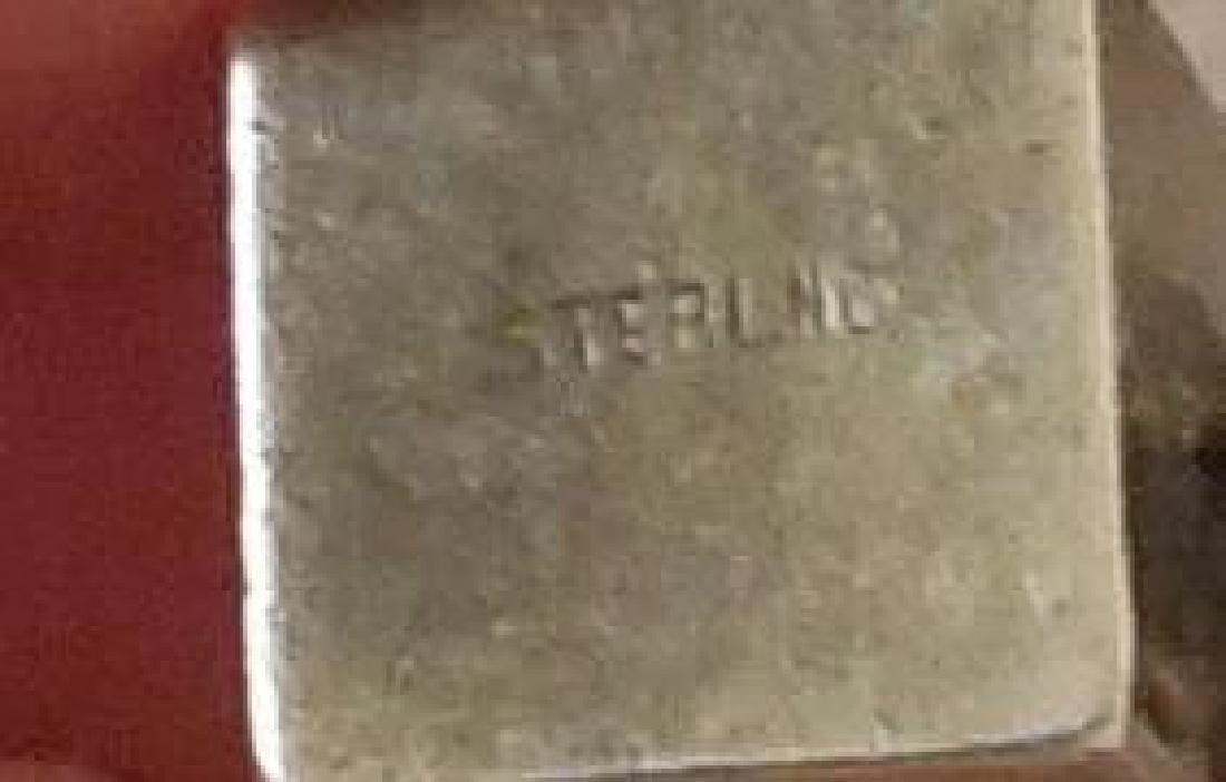 Sterling Silver Charm Bracelet - 7