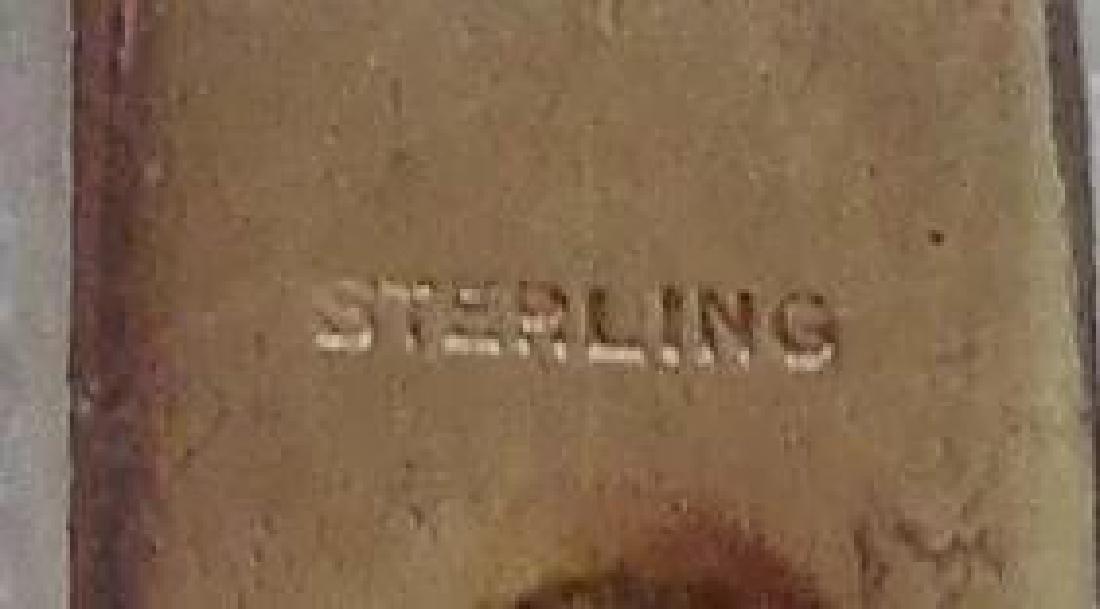 Sterling Silver Charm Bracelet - 8