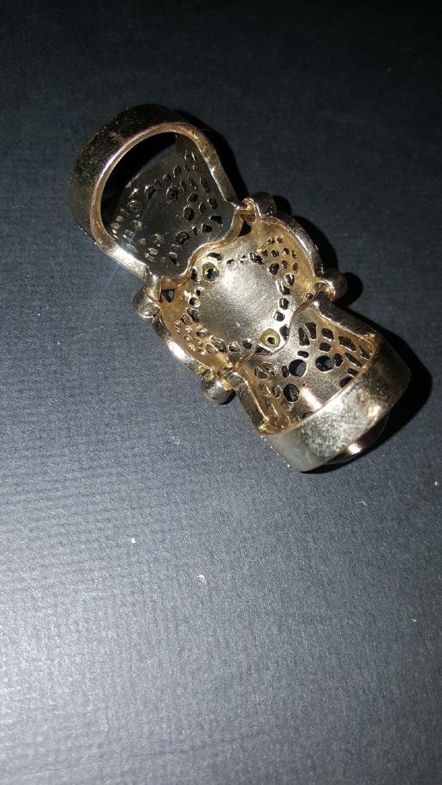 Onyx Tiger Eye  Knuckle Ring - 3