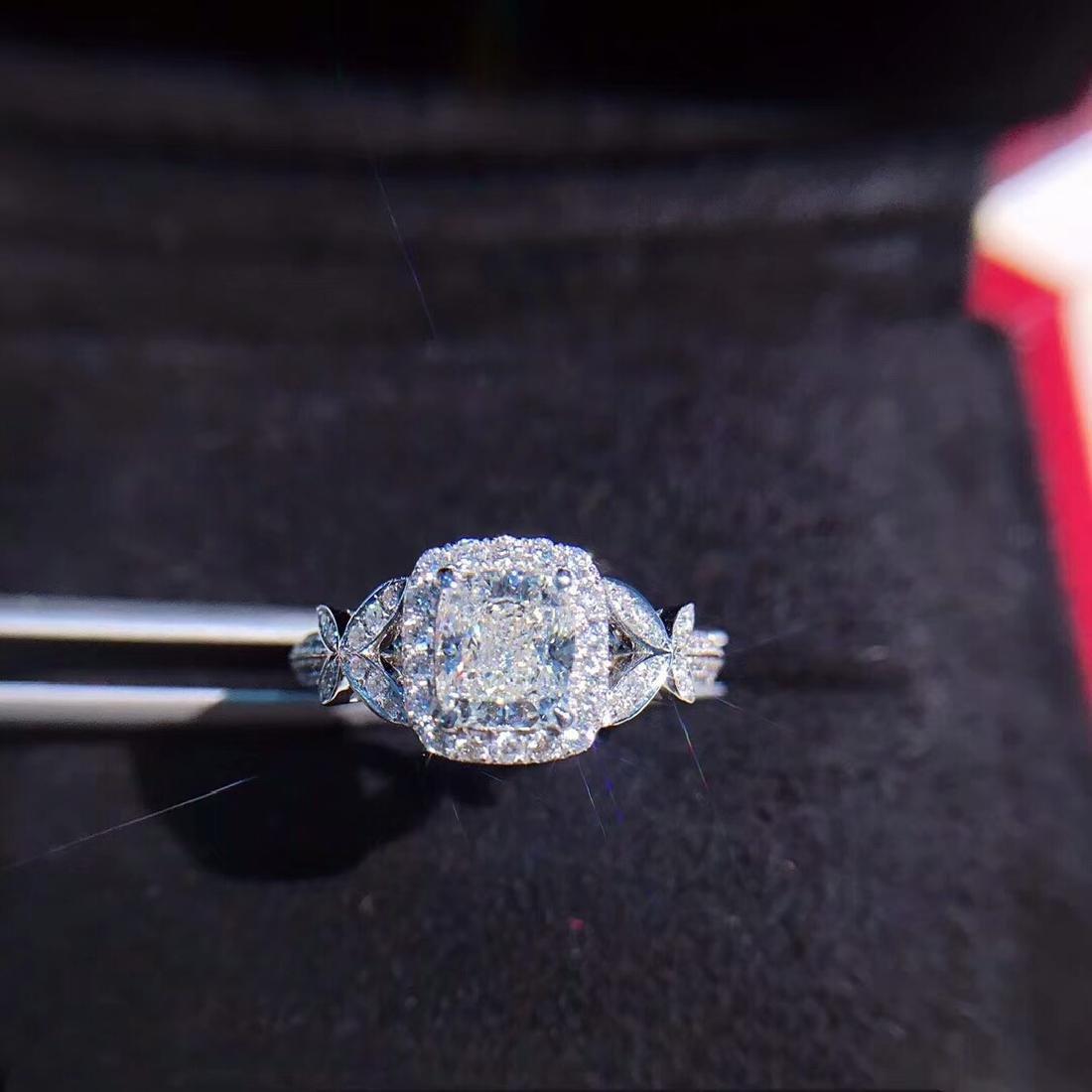 1.02 CTW Diamond Ring 18K
