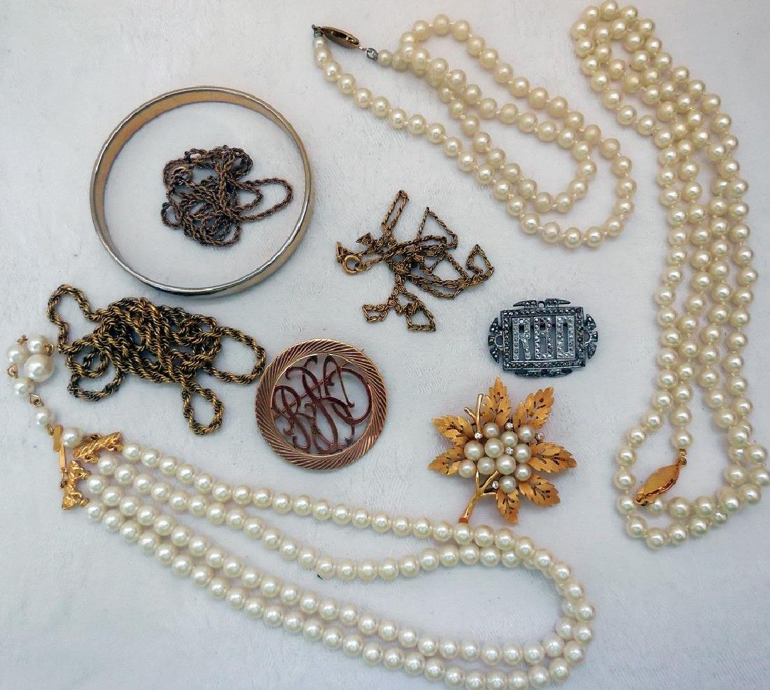 Lot of Mid-Century Costume Jewelry