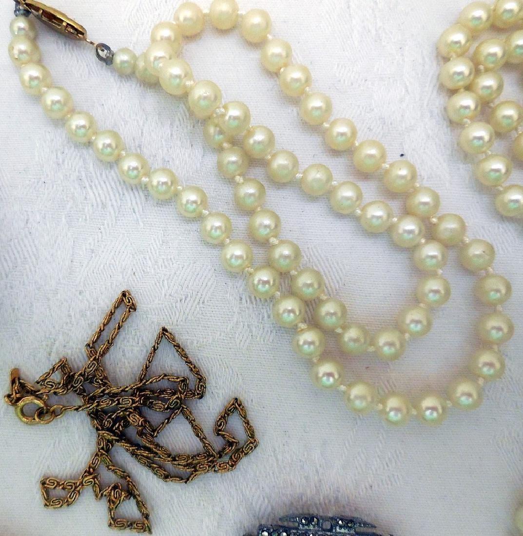 Lot of Mid-Century Costume Jewelry - 3
