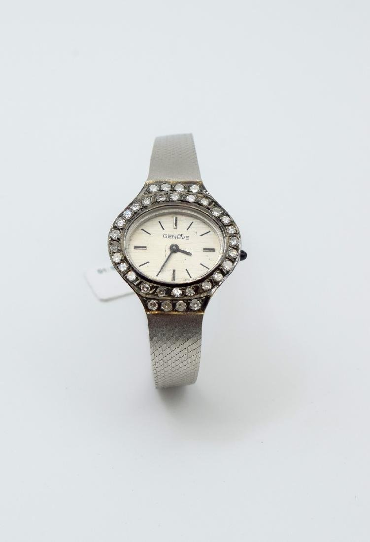 18 carat white gold Geneve Watches