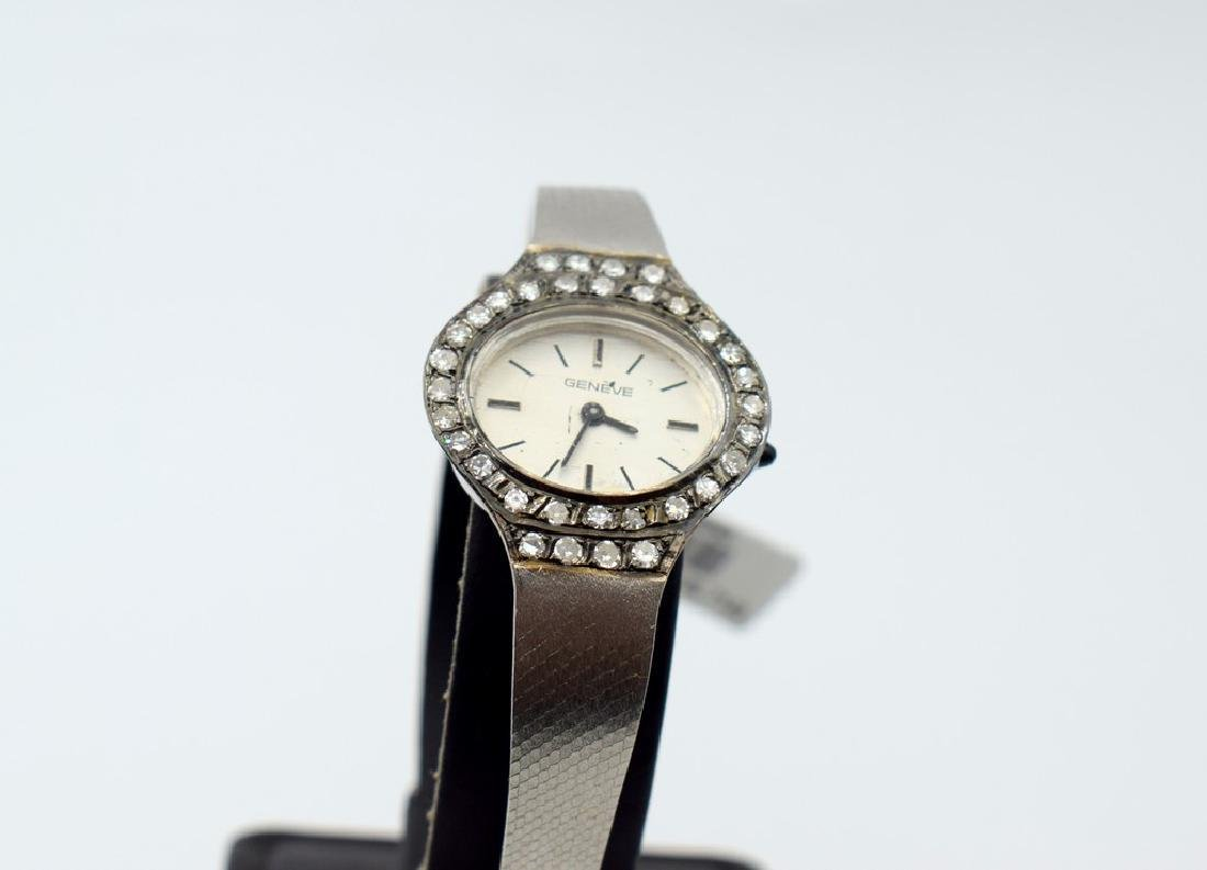 18 carat white gold Geneve Watches - 5