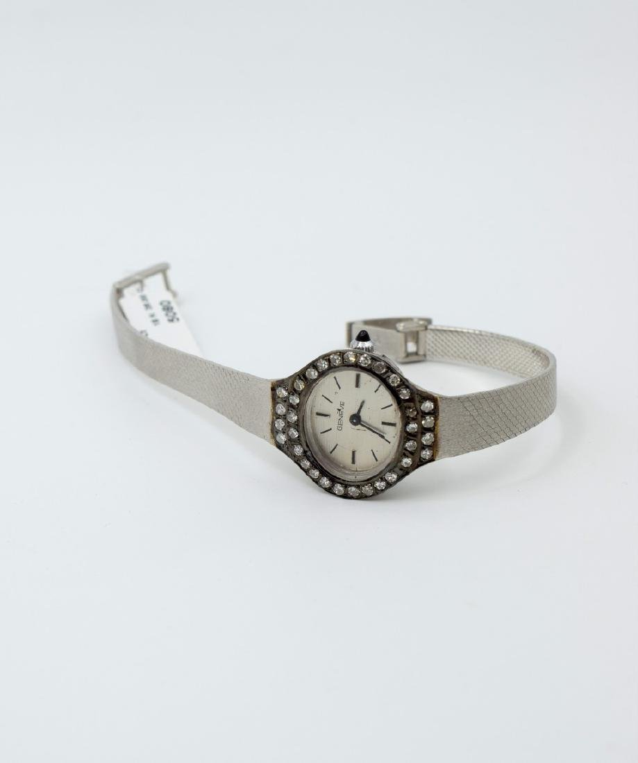 18 carat white gold Geneve Watches - 6