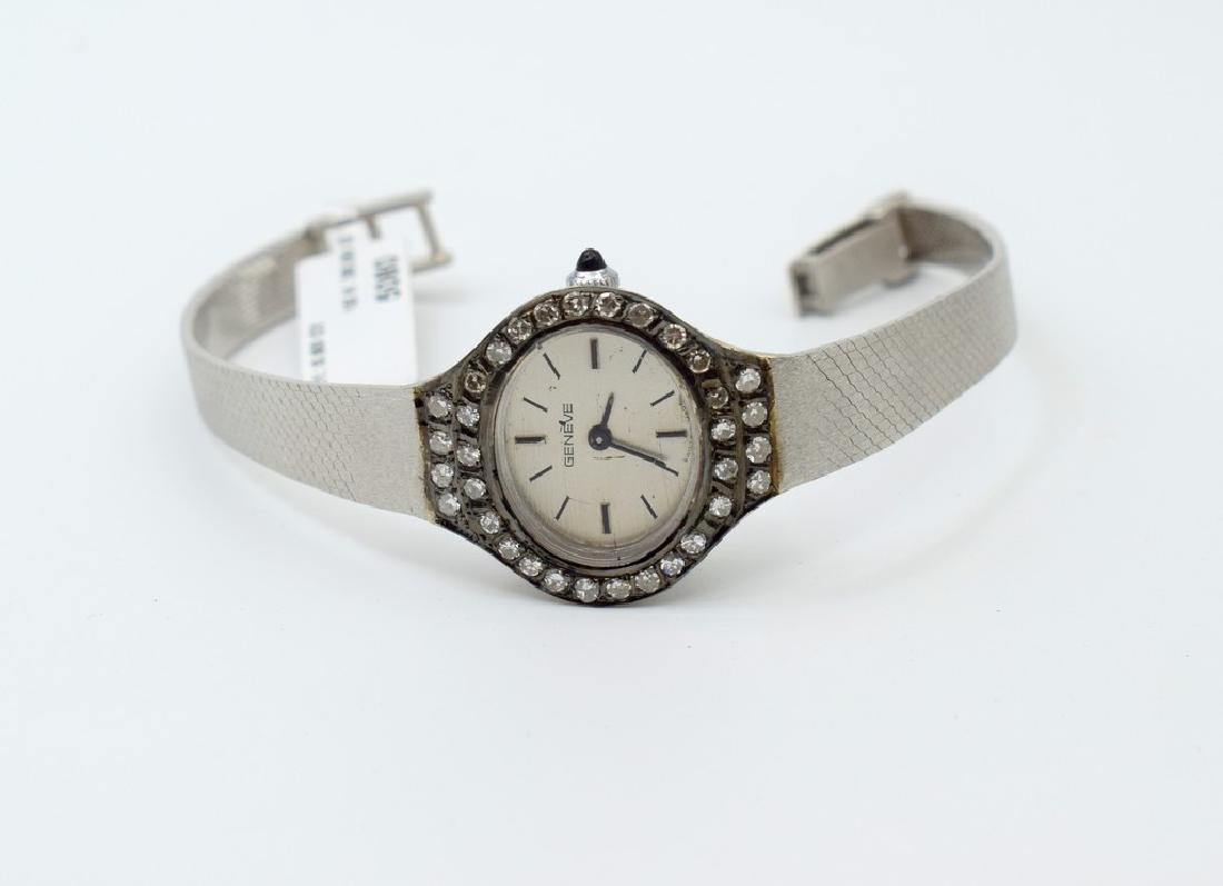 18 carat white gold Geneve Watches - 8
