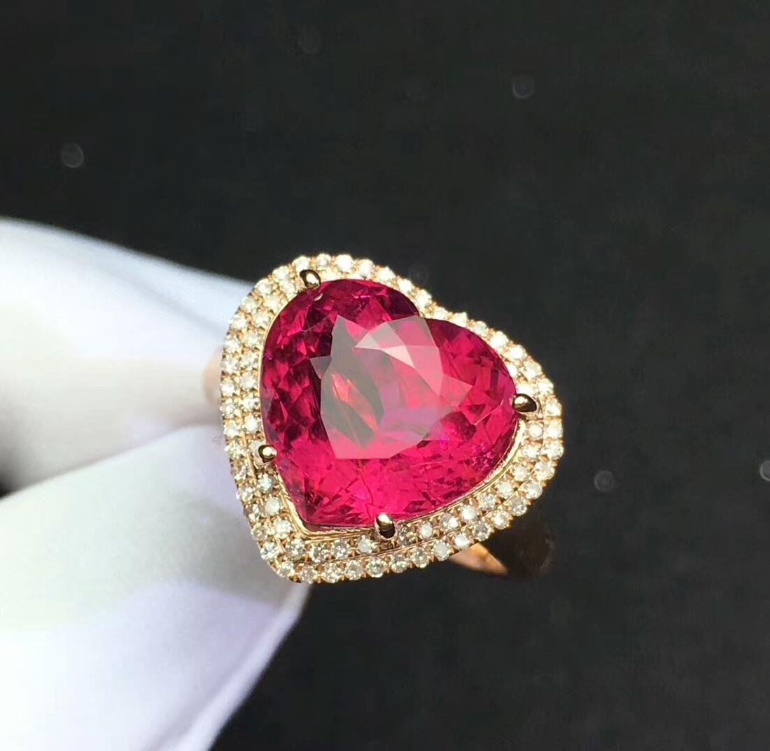 8.6ct Tourmaline Ring in 18kt Rose Gold - 3