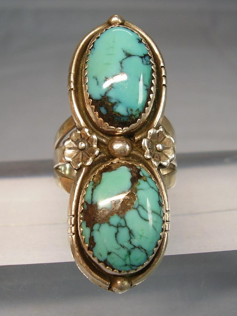 Navajo Turquoise Ring - 7