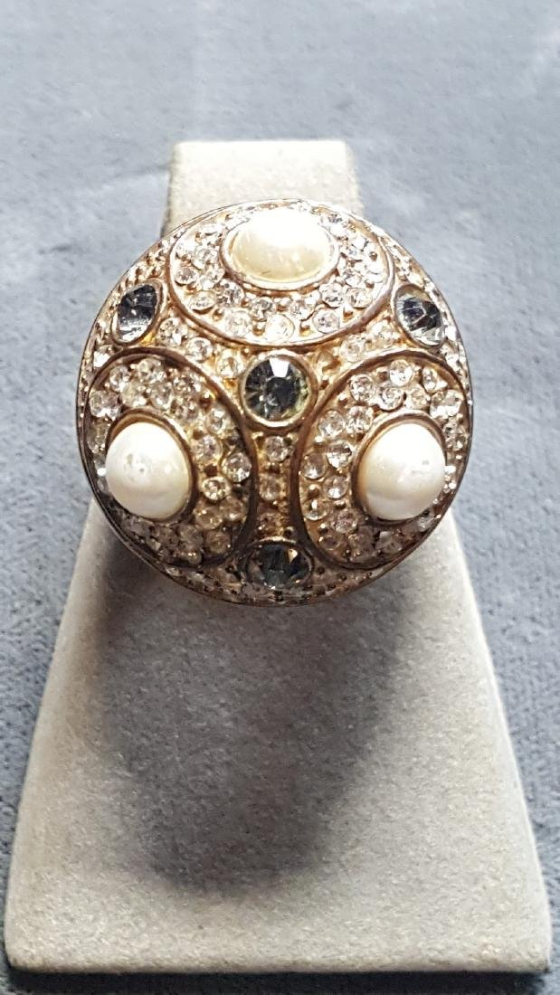 Sputnik'Esque Orb Statement Ring
