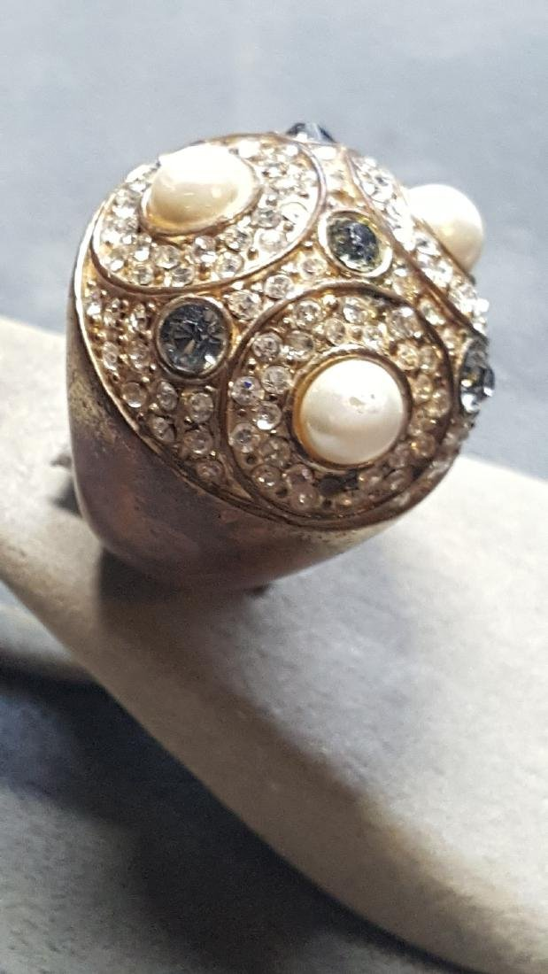 Sputnik'Esque Orb Statement Ring - 2