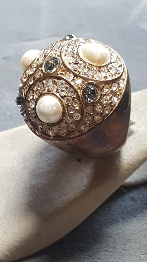 Sputnik'Esque Orb Statement Ring - 3