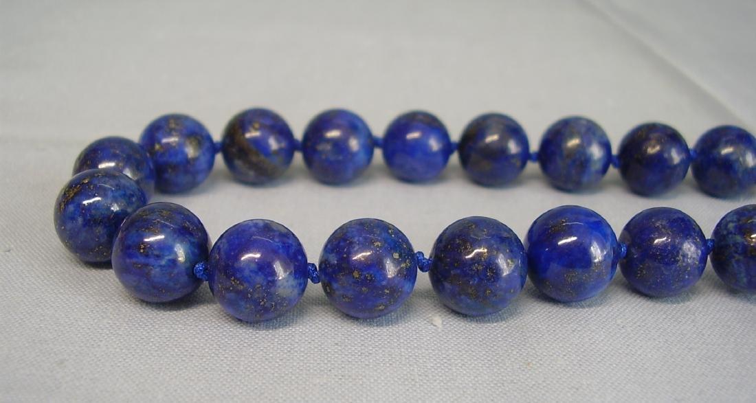 great Necklace Lapis lazuli - 2