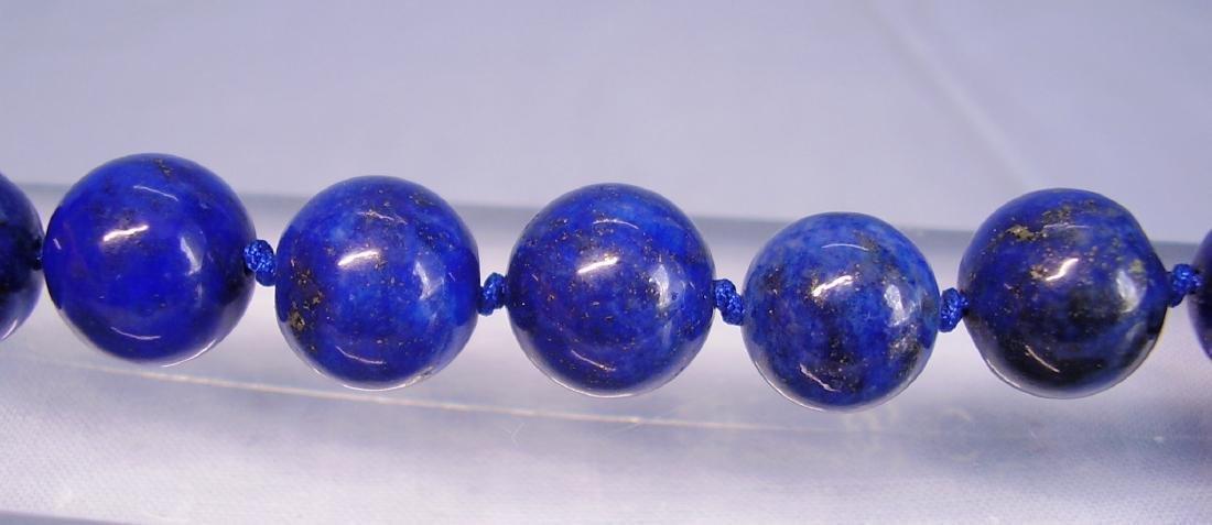great Necklace Lapis lazuli - 3