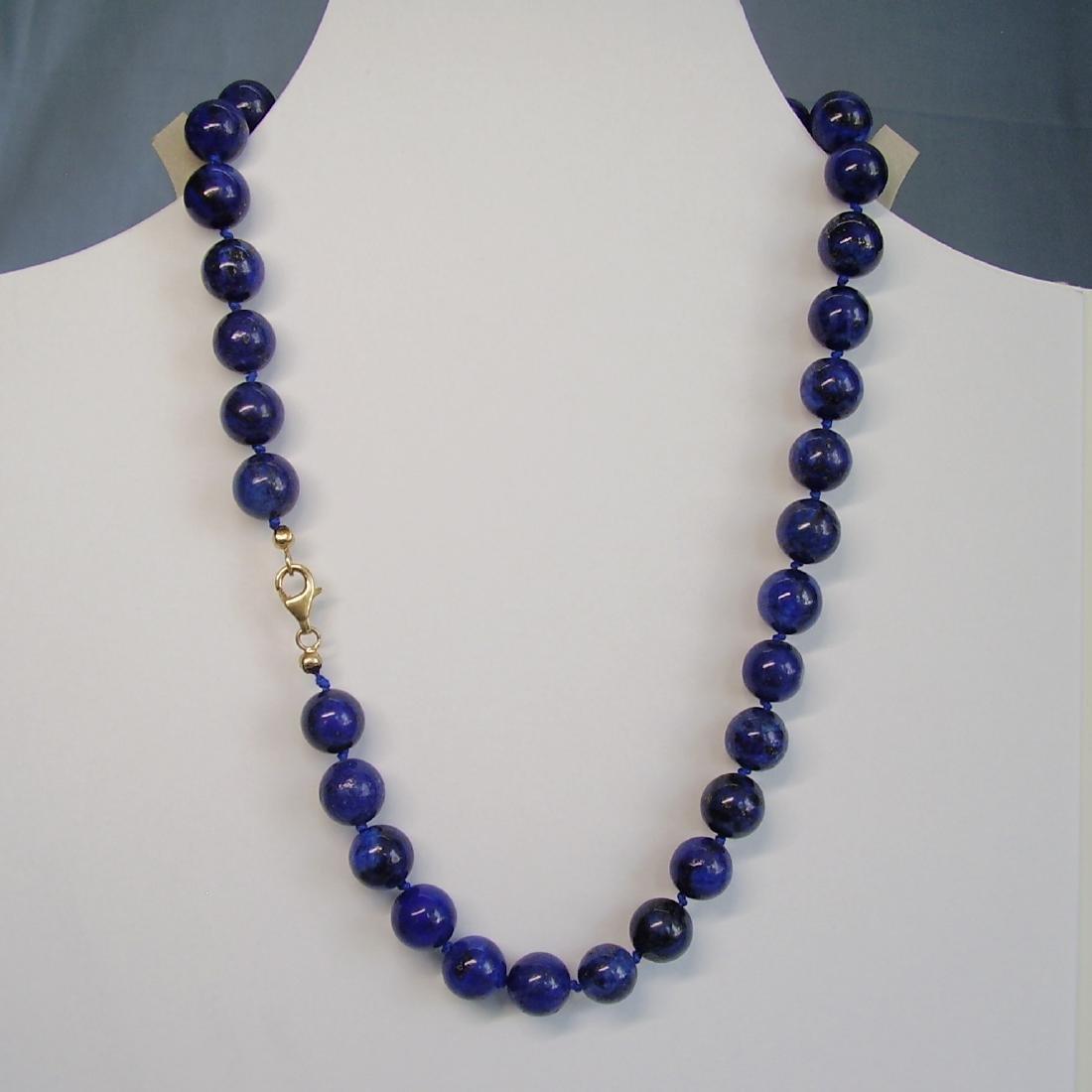 great Necklace Lapis lazuli - 4