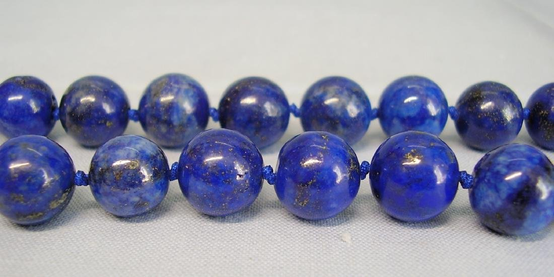 great Necklace Lapis lazuli - 6