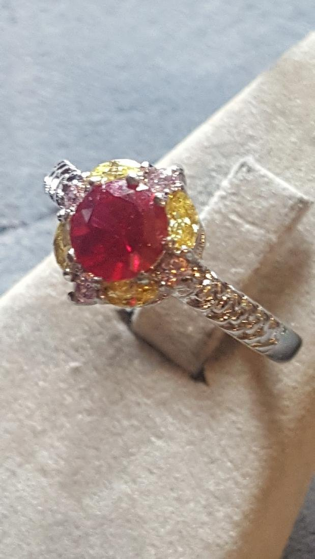 2 ct Ruby 925 Ring - 2