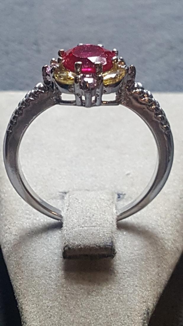 2 ct Ruby 925 Ring - 3