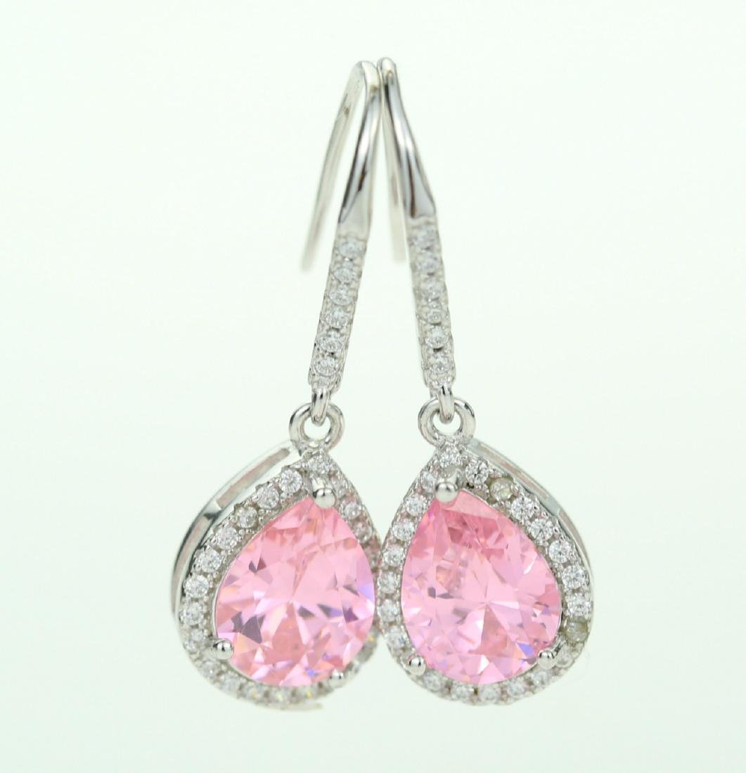 Exquisite 925 silver earing with zircon
