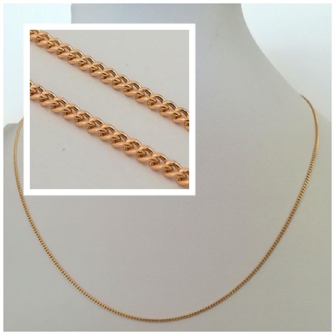 19,2 Kt - Gold necklace with 50 cm - 4.9 Grams