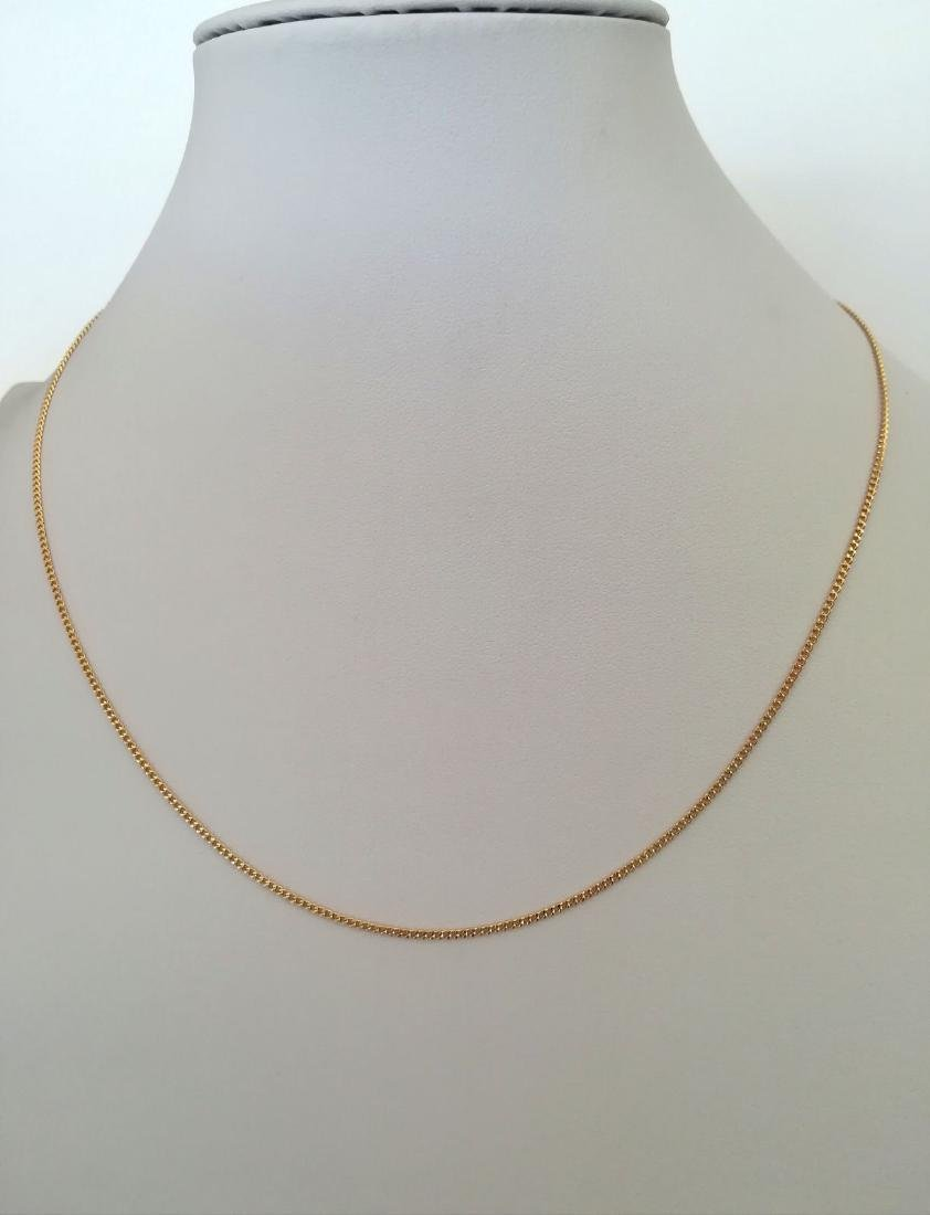 19,2 Kt - Gold necklace with 50 cm - 4.9 Grams - 5