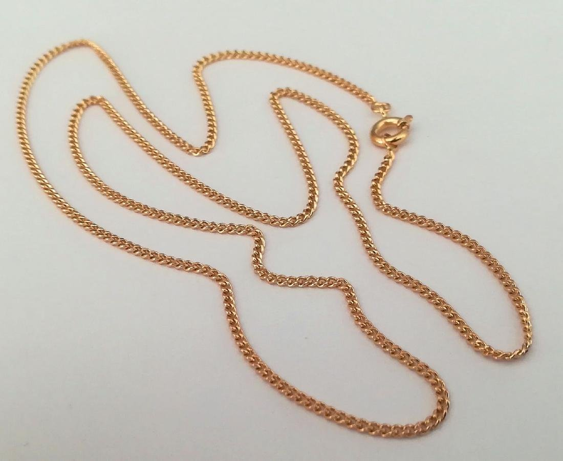 19,2 Kt - Gold necklace with 50 cm - 4.9 Grams - 7
