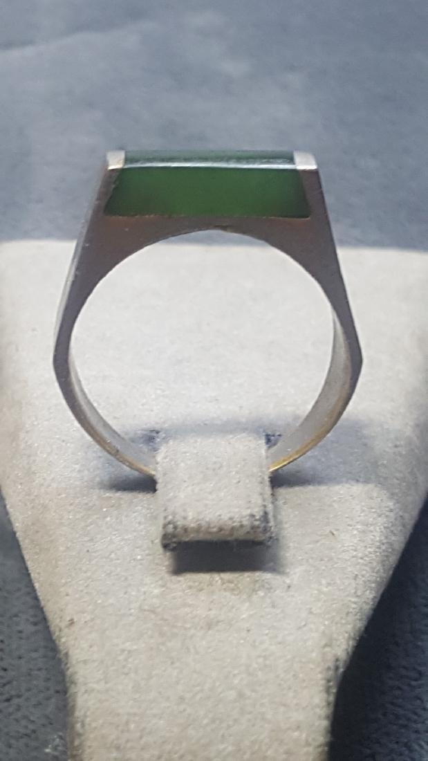 New Zealand Ponoumu Jade Ring