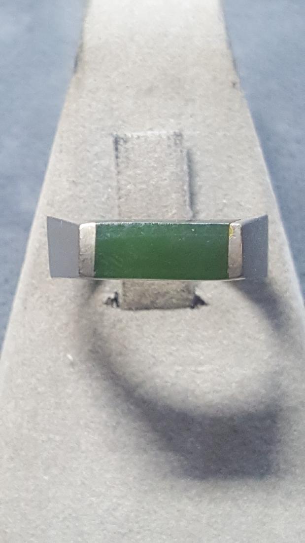 New Zealand Ponoumu Jade Ring - 2