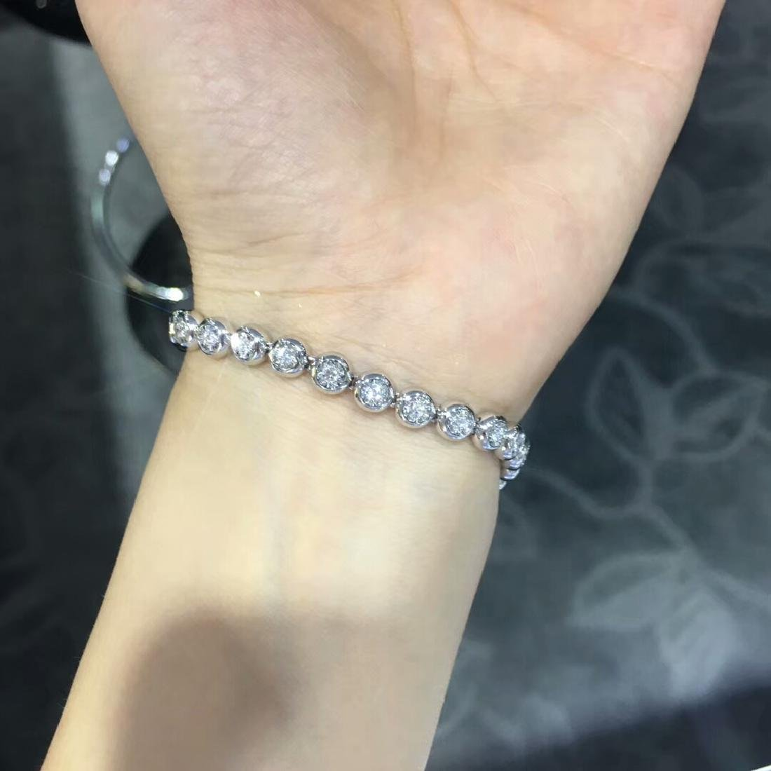 0.75 CTW VS Diamond Bracelets 18K - 2