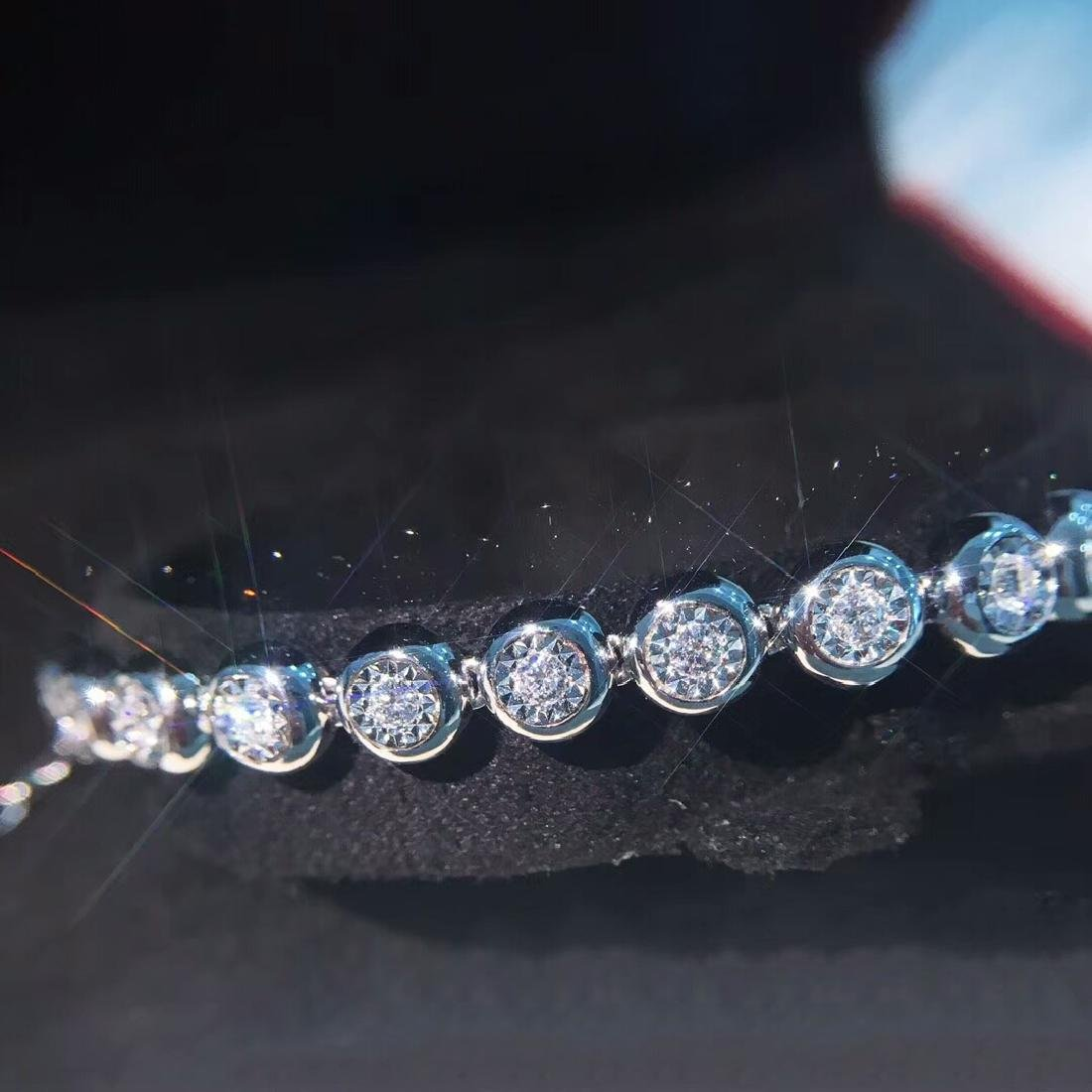 0.75 CTW VS Diamond Bracelets 18K - 3