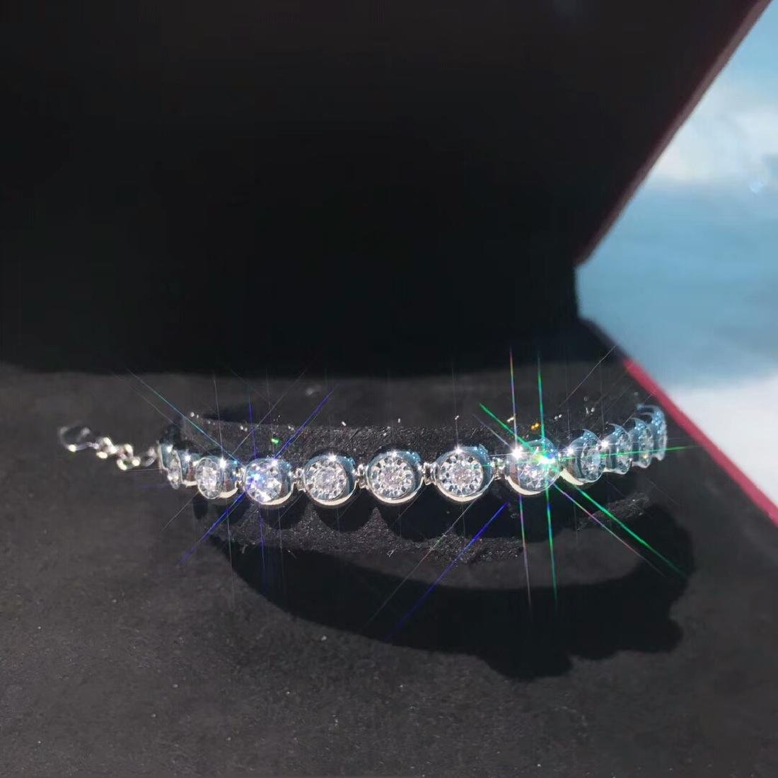 0.75 CTW VS Diamond Bracelets 18K - 4