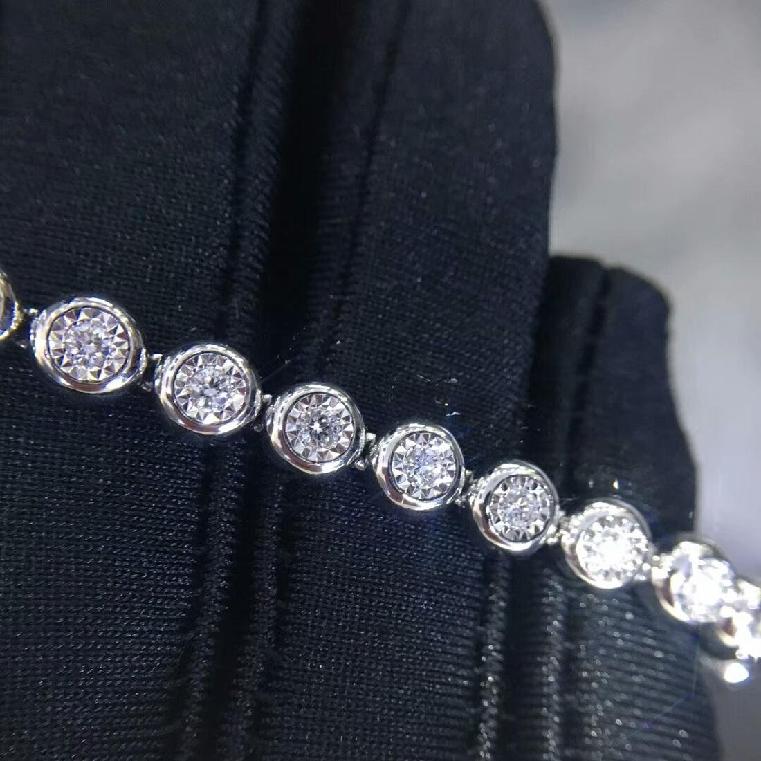 0.75 CTW VS Diamond Bracelets 18K - 5