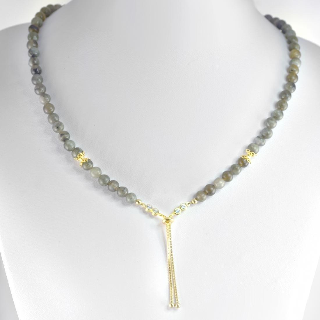 Norwegian Labradorite Adjustable Necklace
