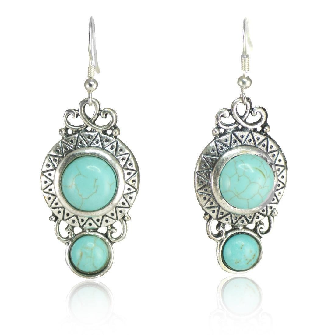 Ethnic Style Long Earrings