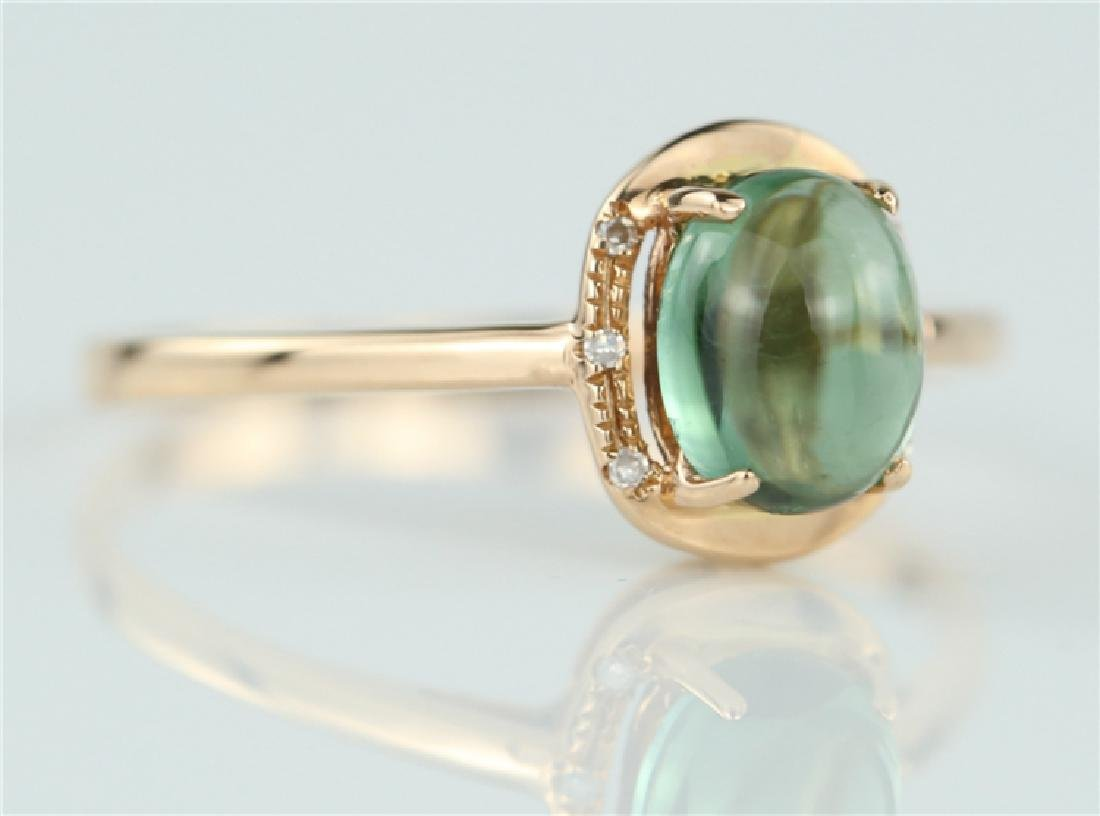 Tourmaline ring with 18K gold - 2