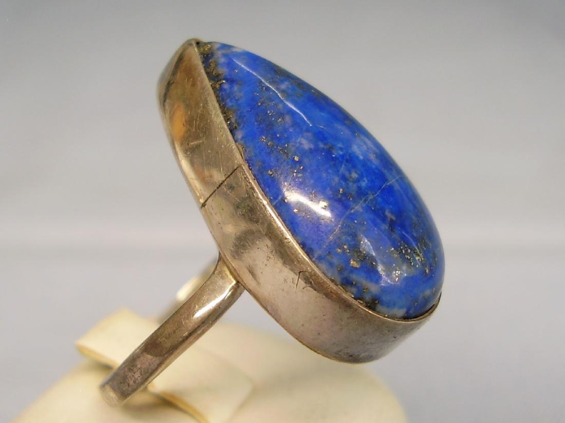 Lapislazuli Silver Ring - 2